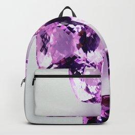 4 Große Kunzite Backpack