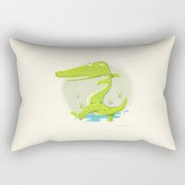 Croco Rectangular Pillow