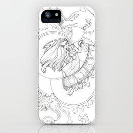 Creation of Saphelites iPhone Case