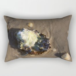 Shells in the sand 1 Rectangular Pillow