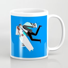 The Dreaming Bridegroom and Bride in Love Coffee Mug
