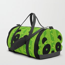 Evergreen Bamboos with Panda Duffle Bag