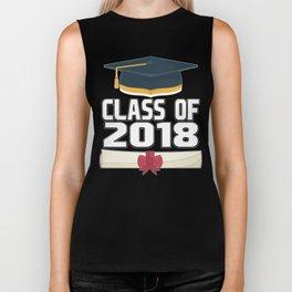 senior class of 2018 graduation  Biker Tank