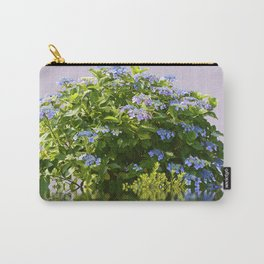Hydrangea on Lavender Carry-All Pouch