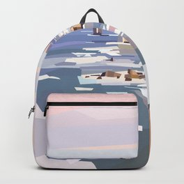 Geometric Great Ocean Road Backpack
