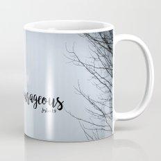 Strong and Courageous - Barn Mug