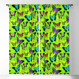 Painted Lady and Morph Butterflies Blackout Curtain