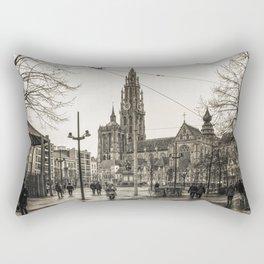 Rainy Day Rectangular Pillow