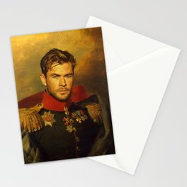 Chris Hemsworth - replaceface Stationery Cards