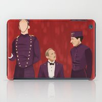 budapest hotel iPad Cases featuring The Budapest by Jenna McCloskey