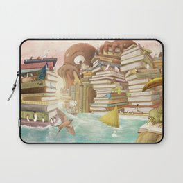 The Library Islands Laptop Sleeve
