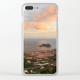 Vila Franca do Campo Clear iPhone Case