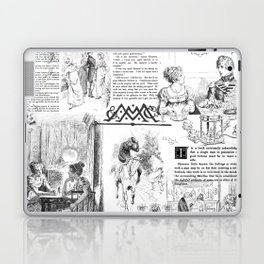 Pride and Prejudice - Pages Laptop & iPad Skin