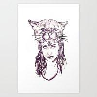 Amme Art Print
