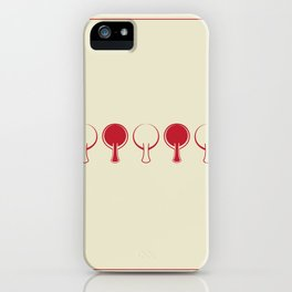 All In A Line iPhone Case