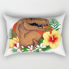 Tropical Dino Rectangular Pillow