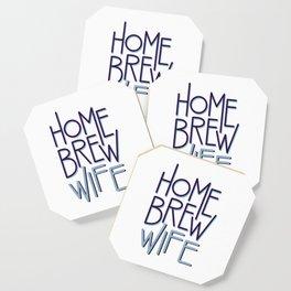 Homebrew Wife Coaster