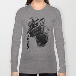 Waterbrushed Robot Protector Long Sleeve T-shirt