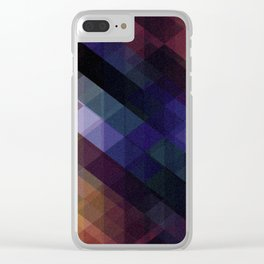 Pattern 5 Clear iPhone Case