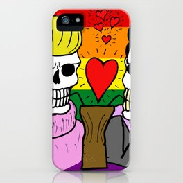 LOVE IS EQUAL (UNISEX) iPhone Case