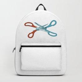 Scissoring by bluethebone Backpack