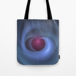 Take Care of My Heart Fractal Tote Bag