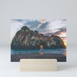 Jagged Rock Island Mini Art Print