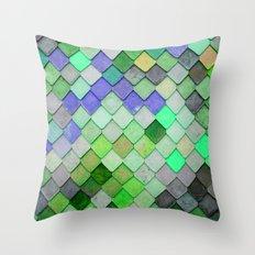 PRETTY - green palette Throw Pillow