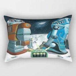 Insert battery please Rectangular Pillow