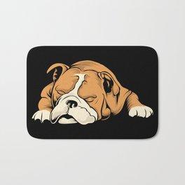 English Bulldog | Dog Lover Bath Mat