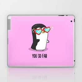Fabulous Penguin Laptop & iPad Skin