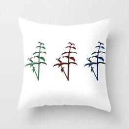 resident evil herbs Throw Pillow