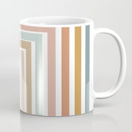 Geometric Rainbow 116 Coffee Mug