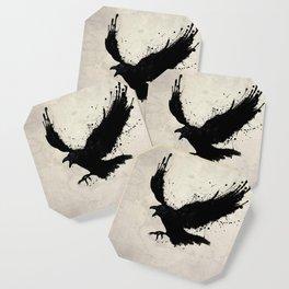 Raven Coaster