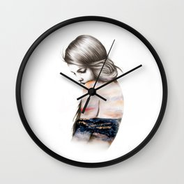 Interlude // Illustration Wall Clock