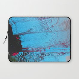 MEMORY MOSH - Glitch Art Print Laptop Sleeve