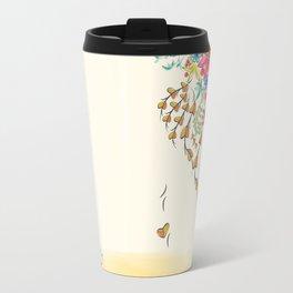 Vibrant Floral to Floral Travel Mug