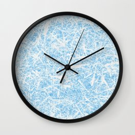 White Out Frost Wall Clock