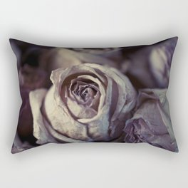 Dried Roses #1 Rectangular Pillow