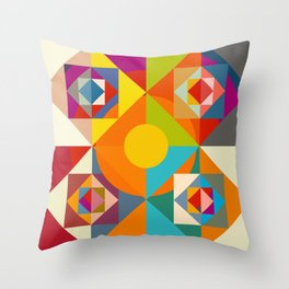 Camahueto Throw Pillow