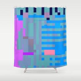 taintedcanvas107x2a Shower Curtain