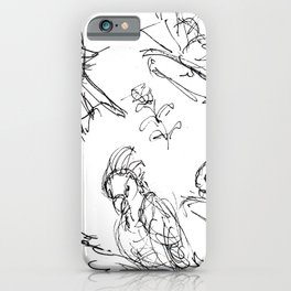 Birds at the Hamlins           by Kay Lipton iPhone Case