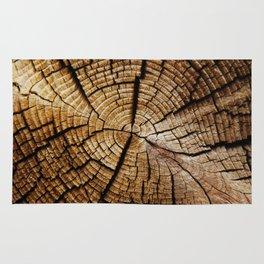 Ol' and weathered log Rug