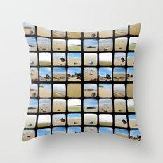 Beach Collective - Through The Viewfinder (TTV) Throw Pillow