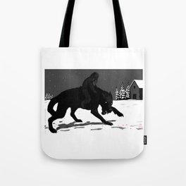 Svart-Alf Tote Bag