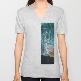 dark landscape Unisex V-Neck