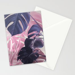 Shadows Monstera Stationery Cards