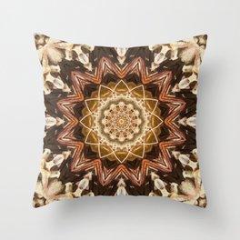 Chocolate Crumble Throw Pillow