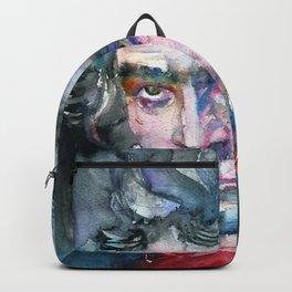 LUDWIG VAN BEETHOVEN - watercolor portrait.2 Backpack