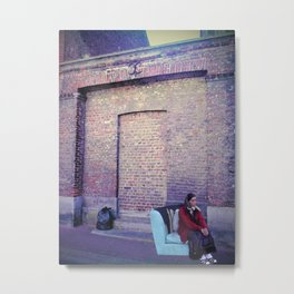 Trash  Metal Print